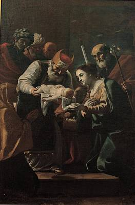 Preti Mattia, Presentation Of Jesus Art Print