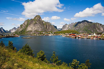 Photograph - Prettiest Town In Norway by June Jacobsen