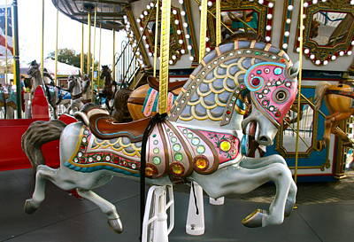 Photograph - Pretty Carnival Horse by Denise Mazzocco