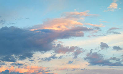 Photograph - Pretty Clouds 4 Filtered by Duane McCullough