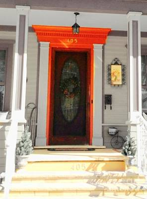 Photograph - Pretty Door Welcoming by Becky Lupe