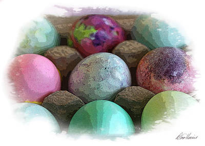 Photograph - Pretty Eggs by Diana Haronis