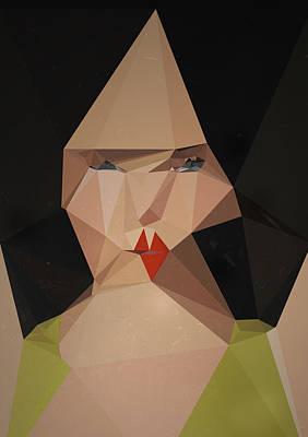 Logic Digital Art - Pretty Face by PandaGunda