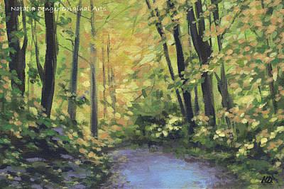 Painting - Pretty Fall by Natasha Denger