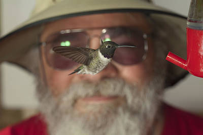Broadbilled Hummingbirds Photograph - Pretty Guy And Old Man by Gregory Scott