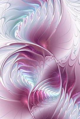 Dream Digital Art - Pretty In Pink by Anastasiya Malakhova