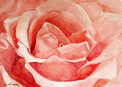 Painting - Pretty In Pink by Erin Rickelton