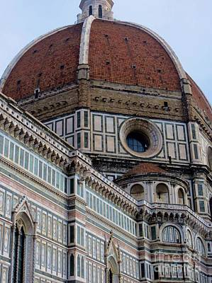 Photograph - Pretty In Pink  Florence Italy by Tim Townsend