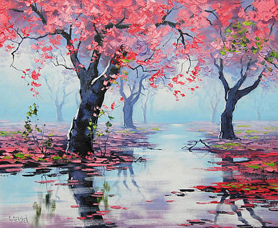 Gercken Painting - Pretty In Pink by Graham Gercken