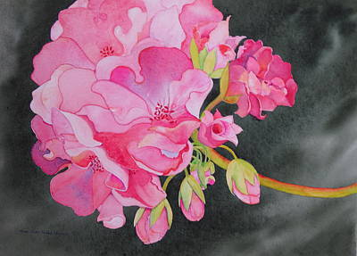Painting - Pretty In Pink by Mary Ellen Mueller Legault