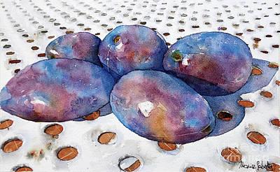 Painting - Pretty In Purple by Marisa Gabetta