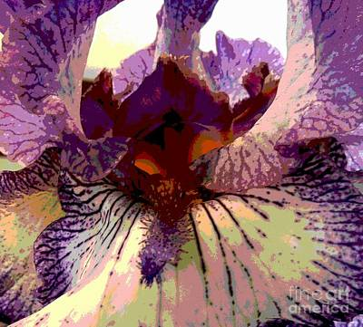 Photograph - Pretty In Purple by Sally Simon