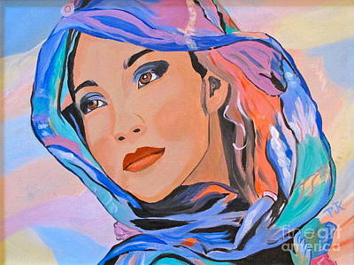 Painting - Pretty Lady by Phyllis Kaltenbach