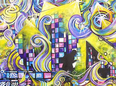 Pl Painting - Pretty Lights 2 by Kevin J Cooper Artwork