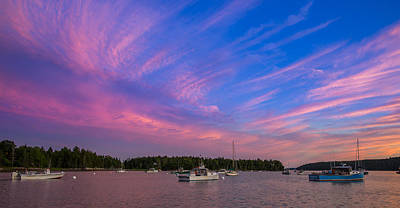 Royalty-Free and Rights-Managed Images - Pretty Marsh Harbor Maine by Bridget Calip