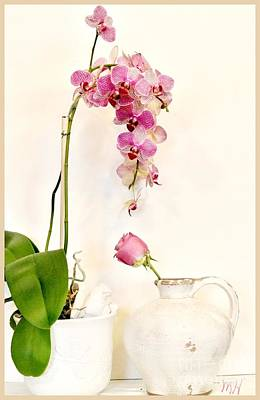 Wrap Digital Art - Pretty Pink by Marsha Heiken