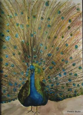 Painting - Pretty Plumage by Betty Pimm