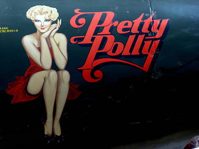 Photograph - Pretty Polly Nose Art by Jeff Lowe