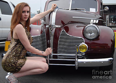 Photograph - Pretty Pontiac by Mark Spearman