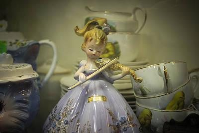 Photograph - Pretty Porcelian Doll by Connie Dye