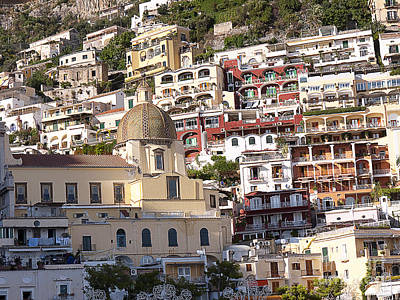 Photograph - Pretty Positano by Brenda Kean