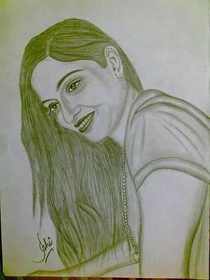 Syeda Ishrat Drawing - Pretty Smile by Syeda Ishrat