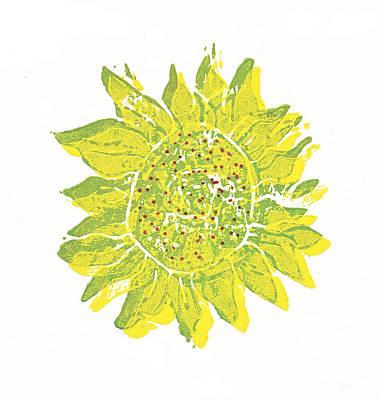 Pretty Sunflower  Art Print by Lynn-Marie Gildersleeve