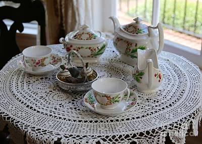 Photograph - Pretty Tea Set by Carol Groenen