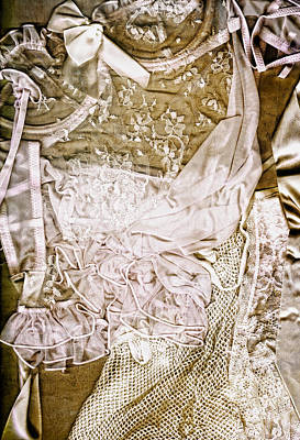 Nudes Photograph - Pretty Things 1 - Lingerie Art By Sharon Cummings by Sharon Cummings