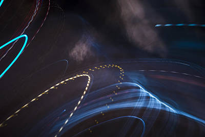Light Painting - Pretty Thoughts by Lee Harland