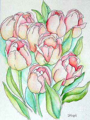 Painting - Pretty Tulips by Inese Poga