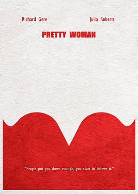 Digital Art - Pretty Woman by Inspirowl Design