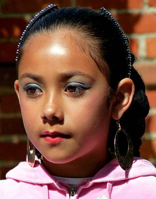 Photograph - Pretty Young Dancer Girl by Jeff Lowe