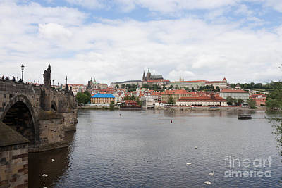 Prague Castle District View Art Print