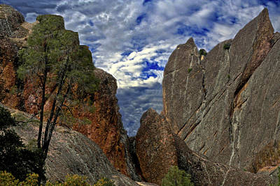 Photograph - Priceless Pinnacles National Monument by SC Heffner