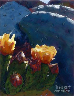 Painting - Prickly Beauties by Betsee  Talavera
