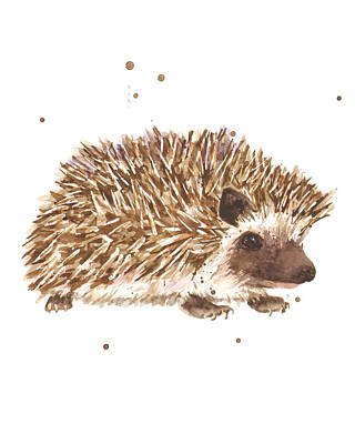 Prickly Paul Art Print by Alison Fennell