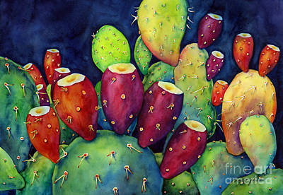 Prickly Pear Art Print by Hailey E Herrera