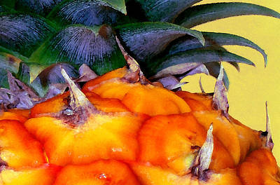 Prickly Sweet Hawaiian Pineapple Art Print
