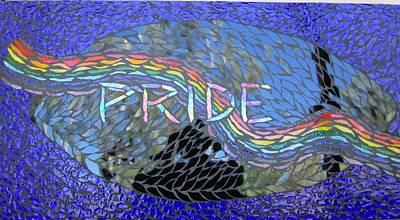 Pride Art Print by Alison Edwards