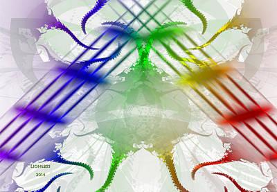 Digital Art - Pride Around The World by Melissa Messick