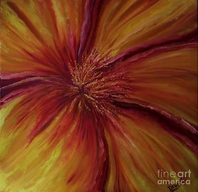 Pride Of A Flower Original by Mary DeLawder