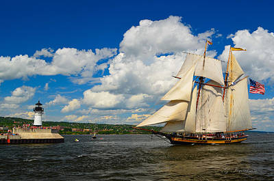 Pride Of Baltimore II Art Print by Gregory Israelson