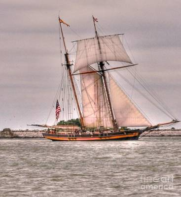 Kathleen Photograph - Pride Of Baltimore by Kathleen Struckle