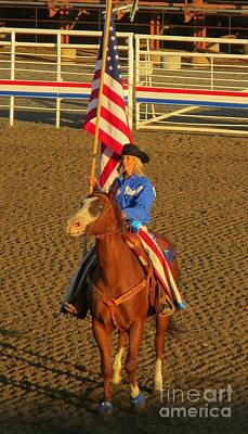 Of Rodeo Events Photograph - Pride Of The West by John Malone