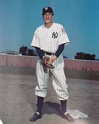 Lou Gehrig Photograph - Pride Of The Yankees by Silver Screen