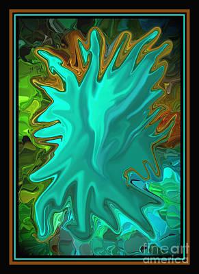 Pride The Screaming Eagle By Steven Langston Art Print by Steven Lebron Langston