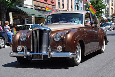 Photograph - Prideful Bentley by John Schneider