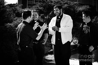 Photograph - Priest Camaraderie by Frank J Casella