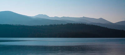 Transportation Royalty-Free and Rights-Managed Images - Priest Lake at Dawn by David Patterson